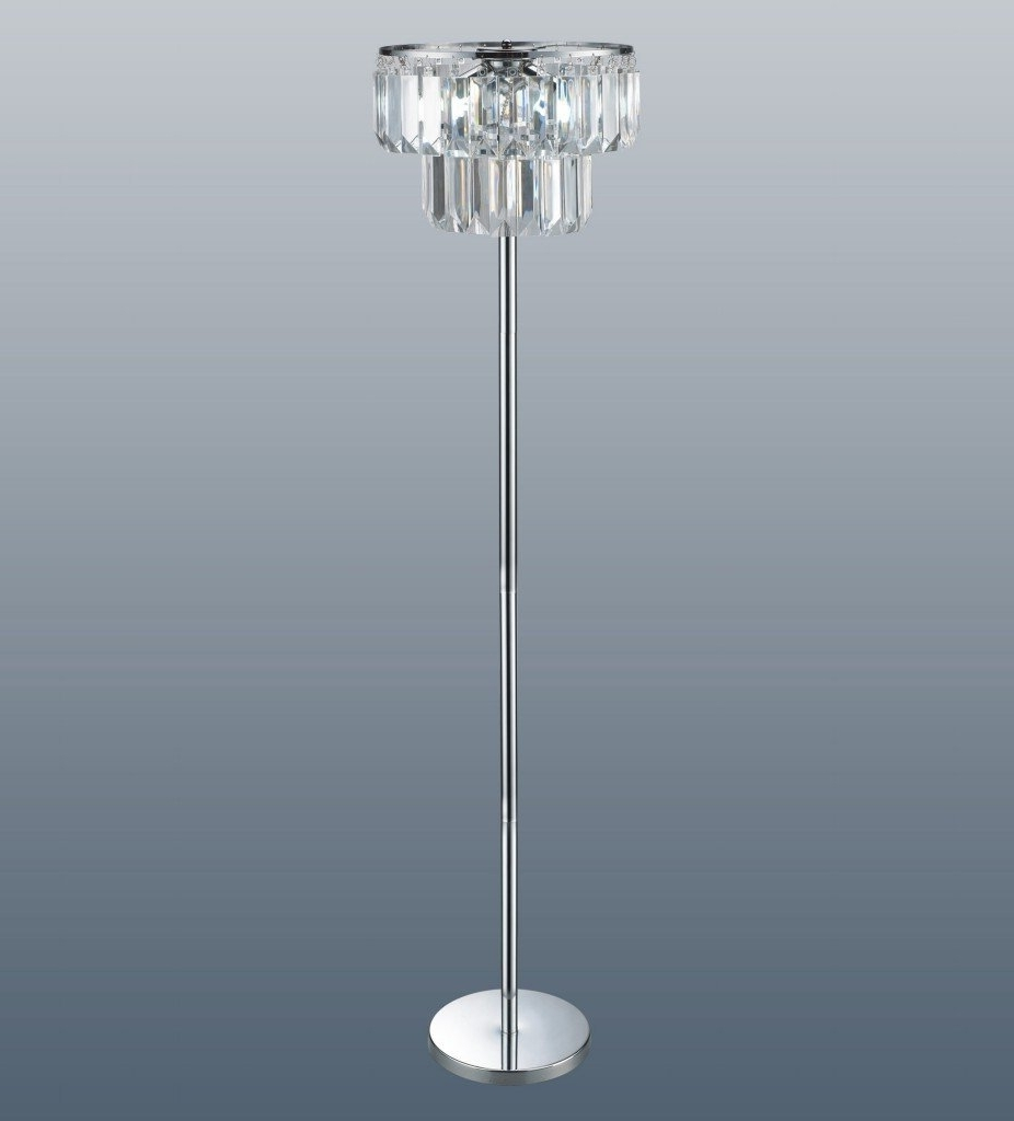 Chandelier Crystal Table Lamp Western Floor Lamps Twig Ceiling To With Regard To Most Recent Free Standing Chandelier Lamps (View 7 of 15)
