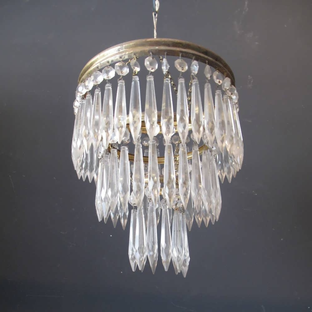 Chandelier : Driftwood Chandelier Crystal Chandelier Glass For Preferred French Glass Chandelier (View 7 of 15)