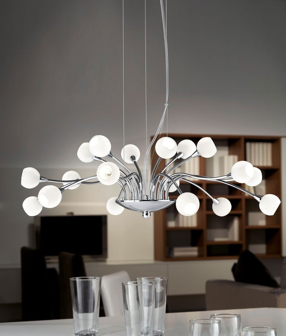 Chandelier: Inspiring Modern Chandelier Modern Chandeliers For Within Preferred White Contemporary Chandelier (View 2 of 15)