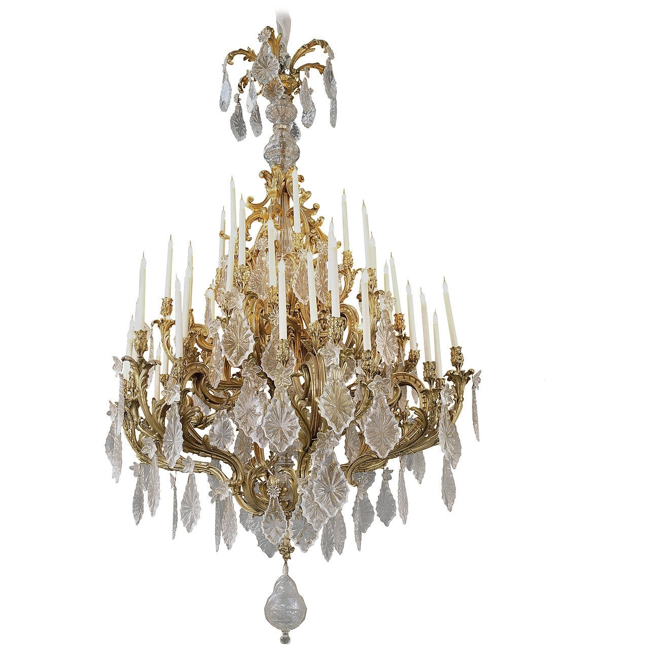 Chandelier Lamps, Big For Latest Expensive Crystal Chandeliers (View 1 of 15)