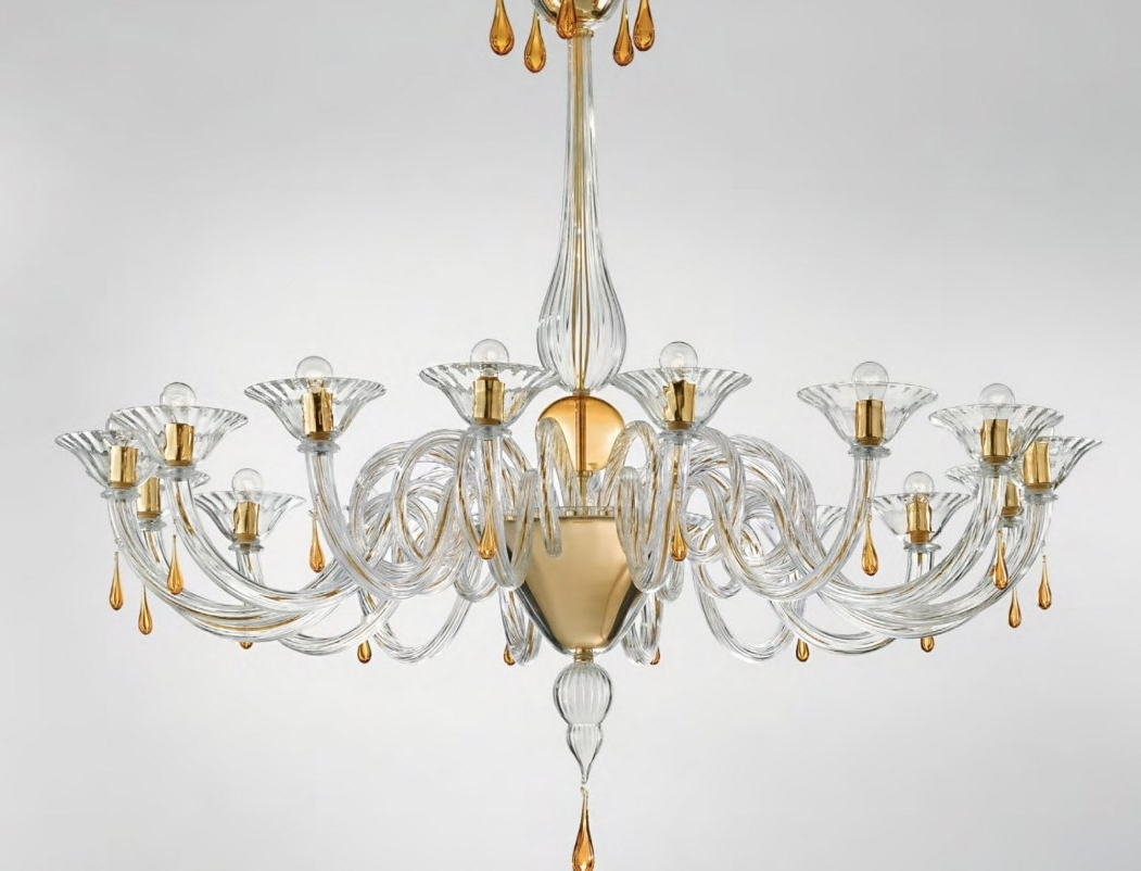 Chandeliers Design : Amazing Amazing Glass Chandelier Modern Murano With Regard To Most Up To Date Italian Chandeliers Contemporary (View 11 of 15)