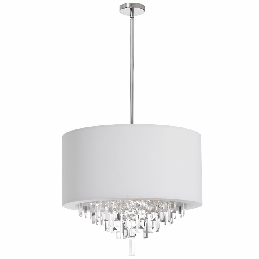 Chandeliers Design : Magnificent Raphael Chandelier With Drum Shade Throughout Most Popular Small White Chandeliers (View 13 of 15)