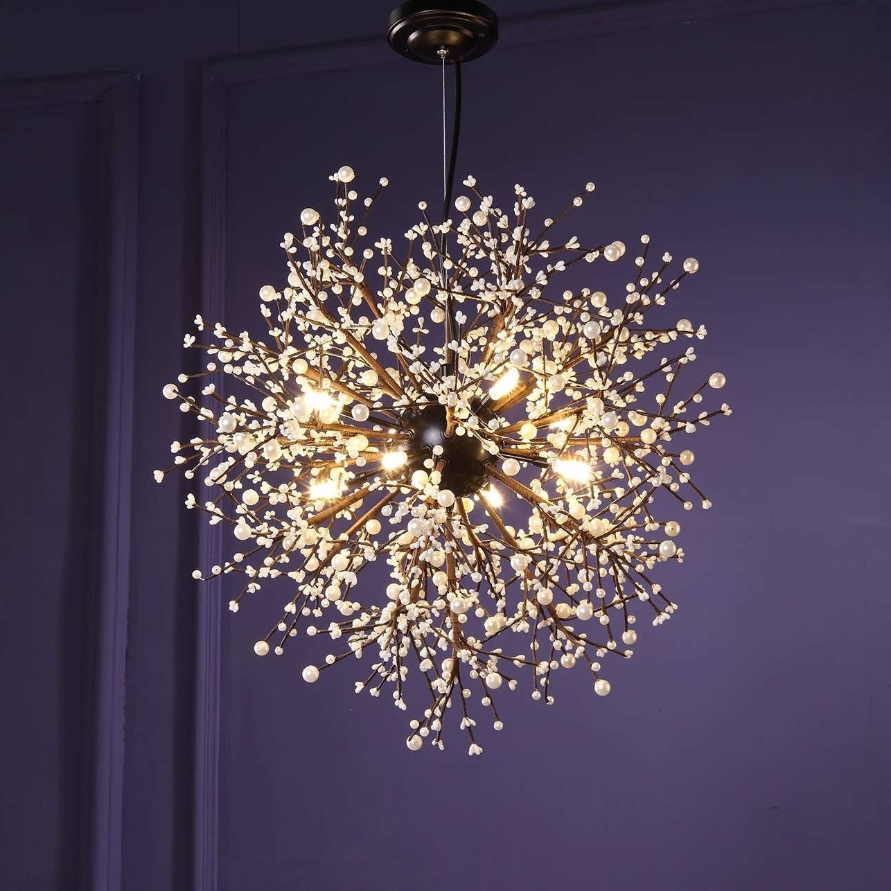 Chandeliers Design : Marvelous Amazing Glass Ball Chandelier Light For Best And Newest Turquoise Ball Chandeliers (View 6 of 15)