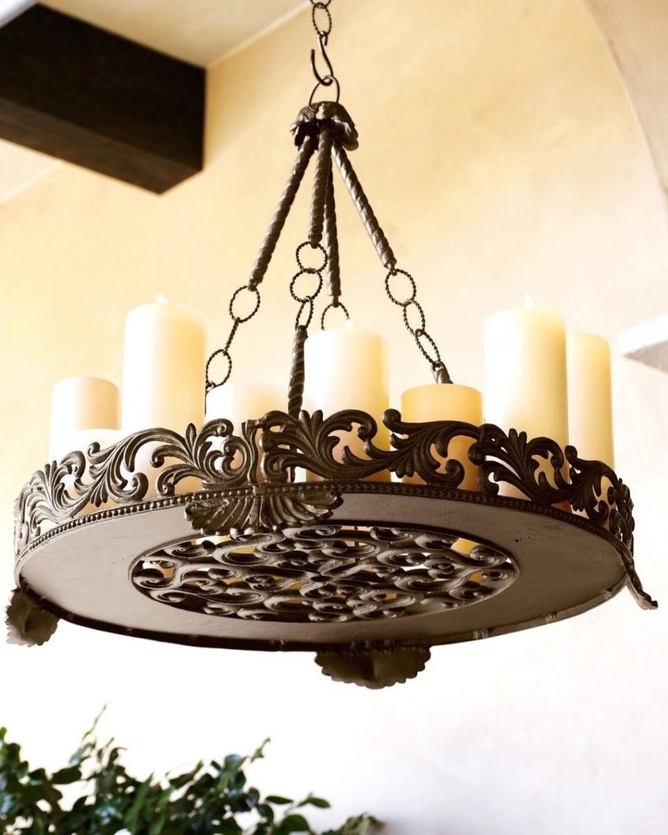 Chandeliers Design : Marvelous Hanging Candle Chandelier Non With Regard To Widely Used Hanging Candle Chandeliers (View 8 of 15)