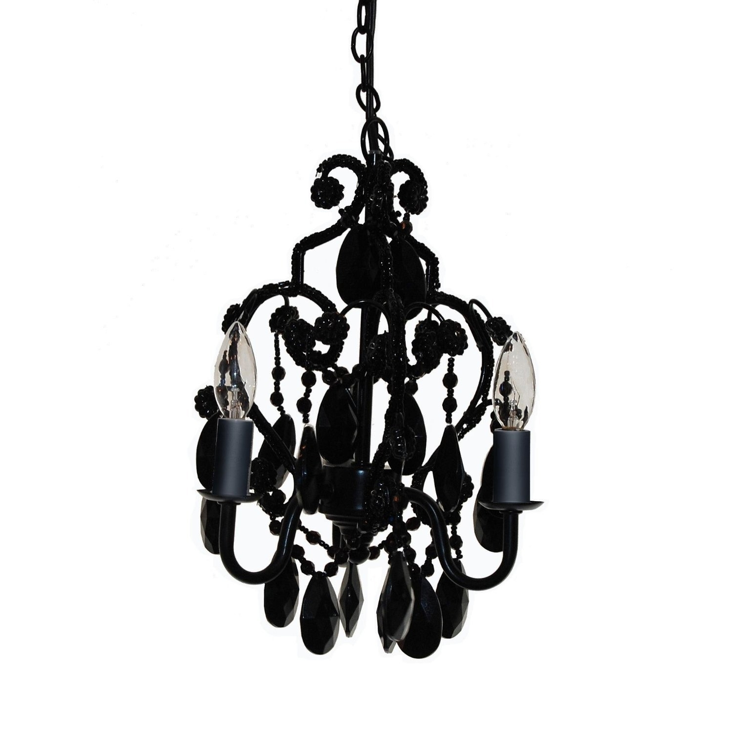 Chandeliers In Trendy Faux Crystal Chandeliers (View 6 of 15)