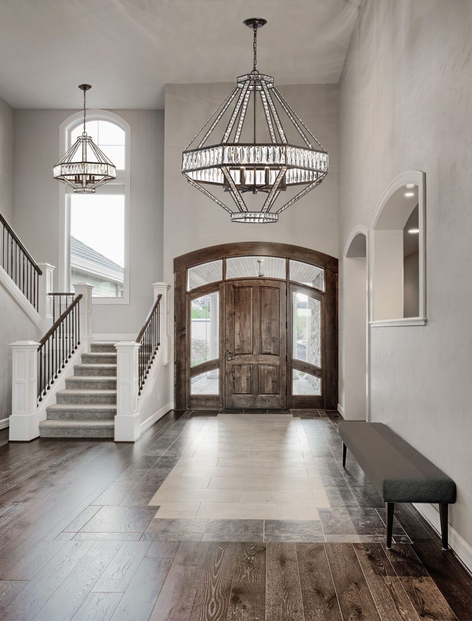 Chandeliers : Modern Hallway Chandeliers Ideas Best Photo Design With Most Current Hallway Chandeliers (View 6 of 15)