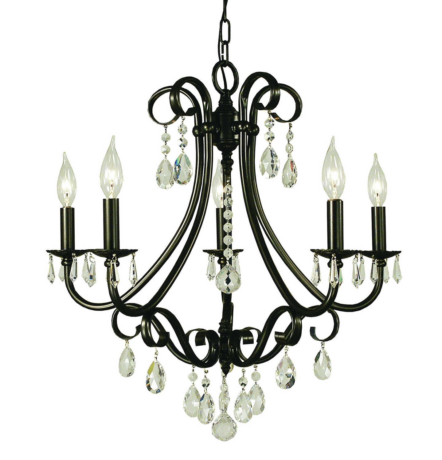 Choosing Chandeliers For A Traditional Kitchen Pertaining To Well Known Traditional Chandeliers (View 7 of 15)