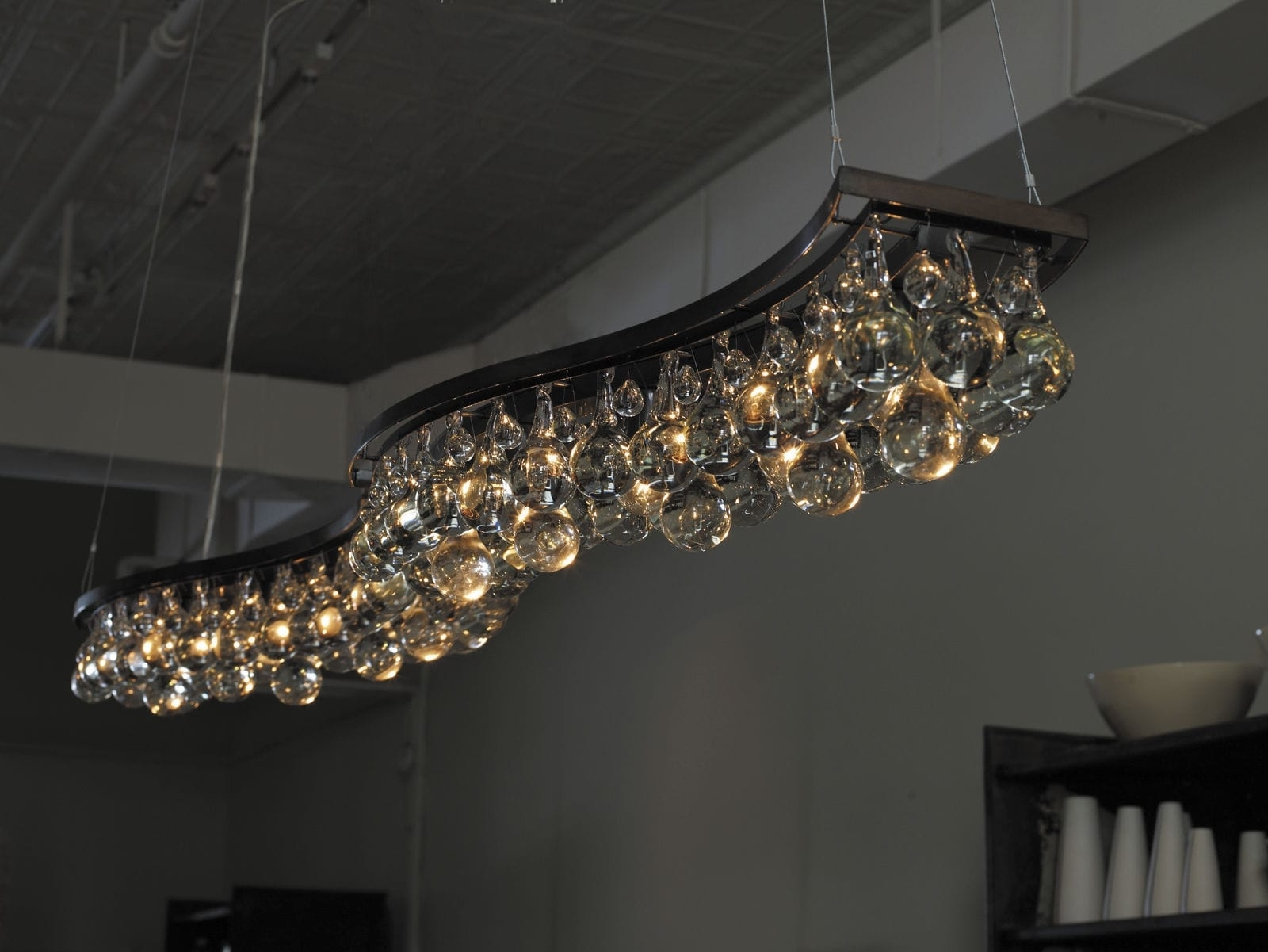 Contemporary Bronze Chandeliers Long : Ultra Classical Or Throughout 2018 Long Modern Chandelier (View 3 of 15)