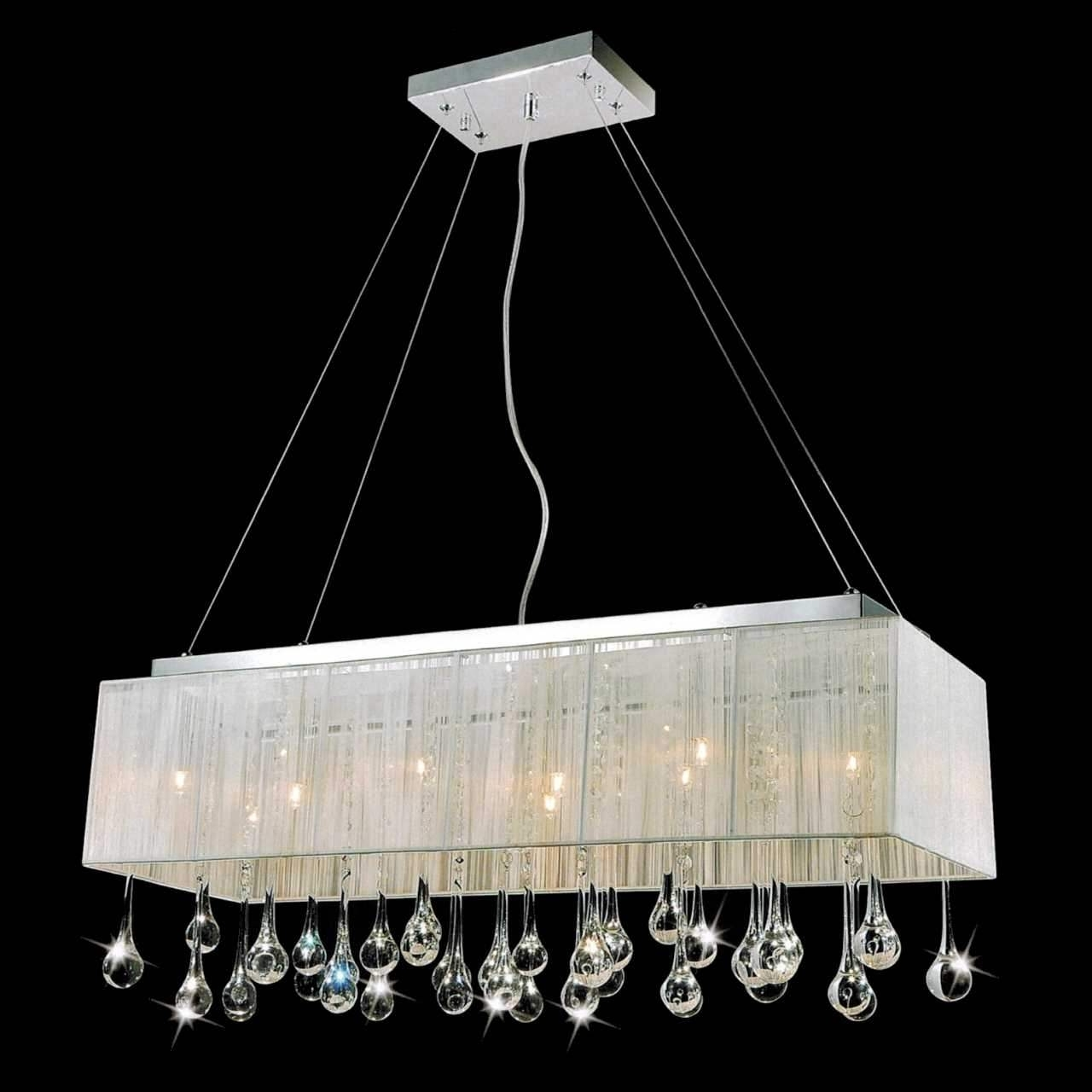 Contemporary Design Insight Pertaining To 2018 Modern Silver Chandelier (View 3 of 15)