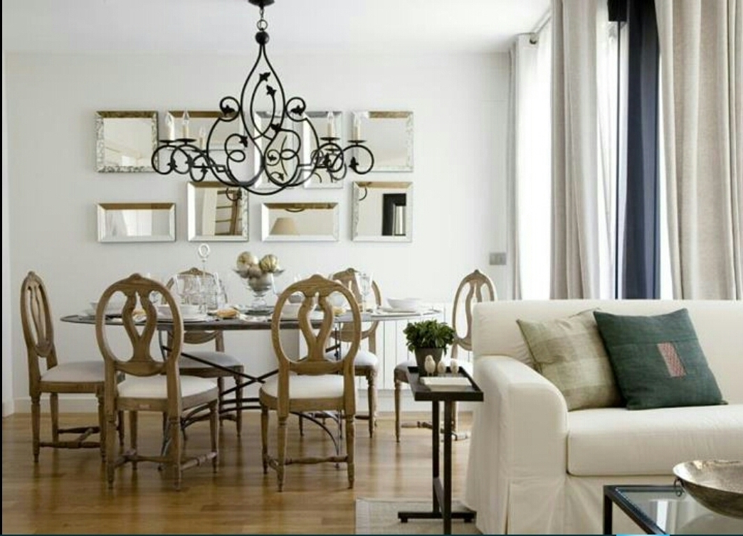 Correct Height Of Chandelier Over Dining Room Table Valley Az With Current Table Chandeliers (View 2 of 15)