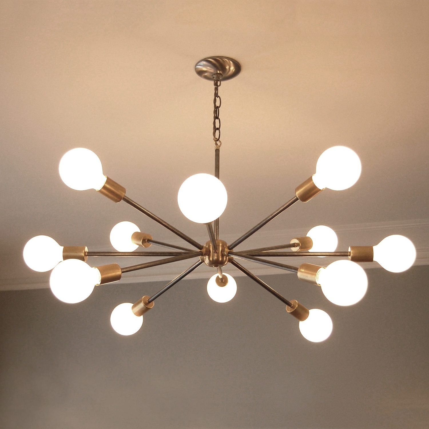 Creative Mid Century Modern Chandeliers On Home Interior Remodel Inside Well Known Modern Chandeliers (View 5 of 15)