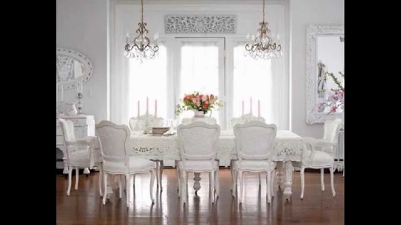 Creative Shabby Chic Chandeliers Decorating Ideas – Youtube Intended For Most Current Shabby Chic Chandeliers (View 6 of 15)