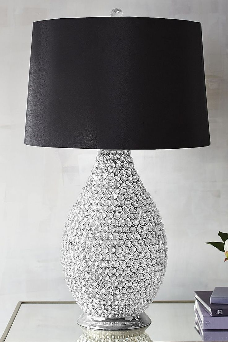 Crystal Ball, Absolutely Stunning With Regard To Faux Crystal Chandelier Table Lamps (View 2 of 15)