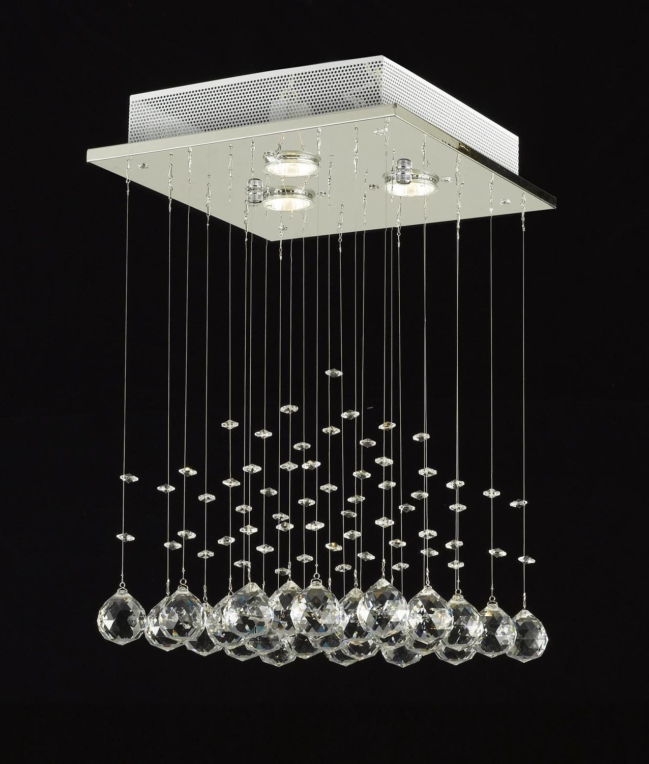 Crystal Ball, Chandeliers And Intended For Well Known Modern Light Chandelier (View 3 of 15)