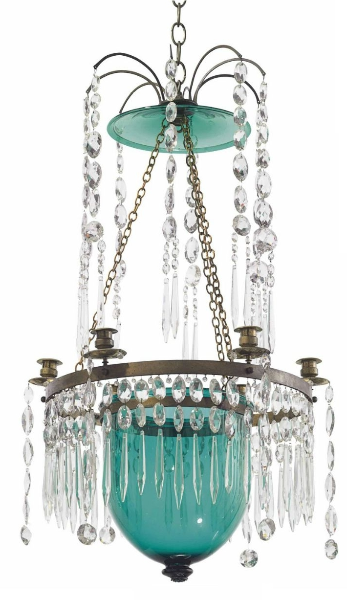 Crystal Chandeliers Pertaining To Turquoise Crystal Chandelier Lights (View 14 of 15)