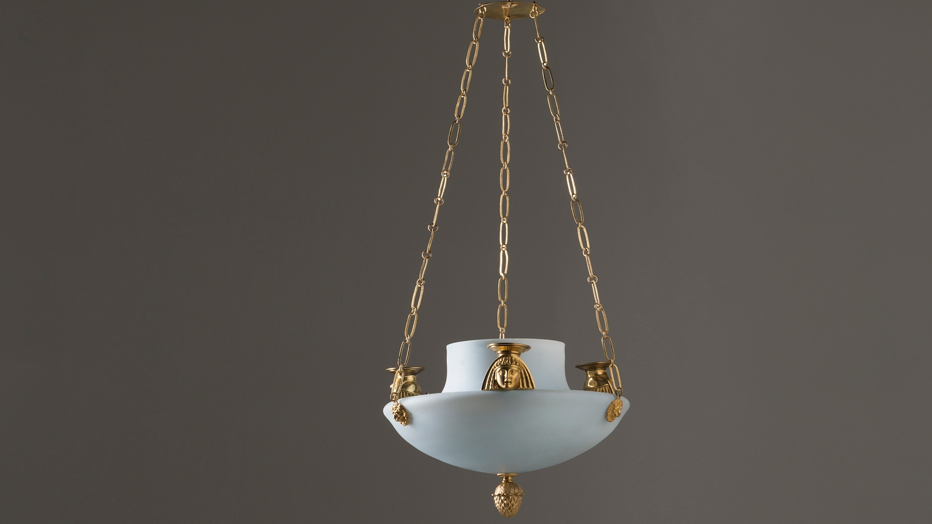 Current Chandelier In Egyptian Taste Circa 1800 Hoffmans Antikhandel With Regard To Egyptian Chandelier (View 4 of 15)
