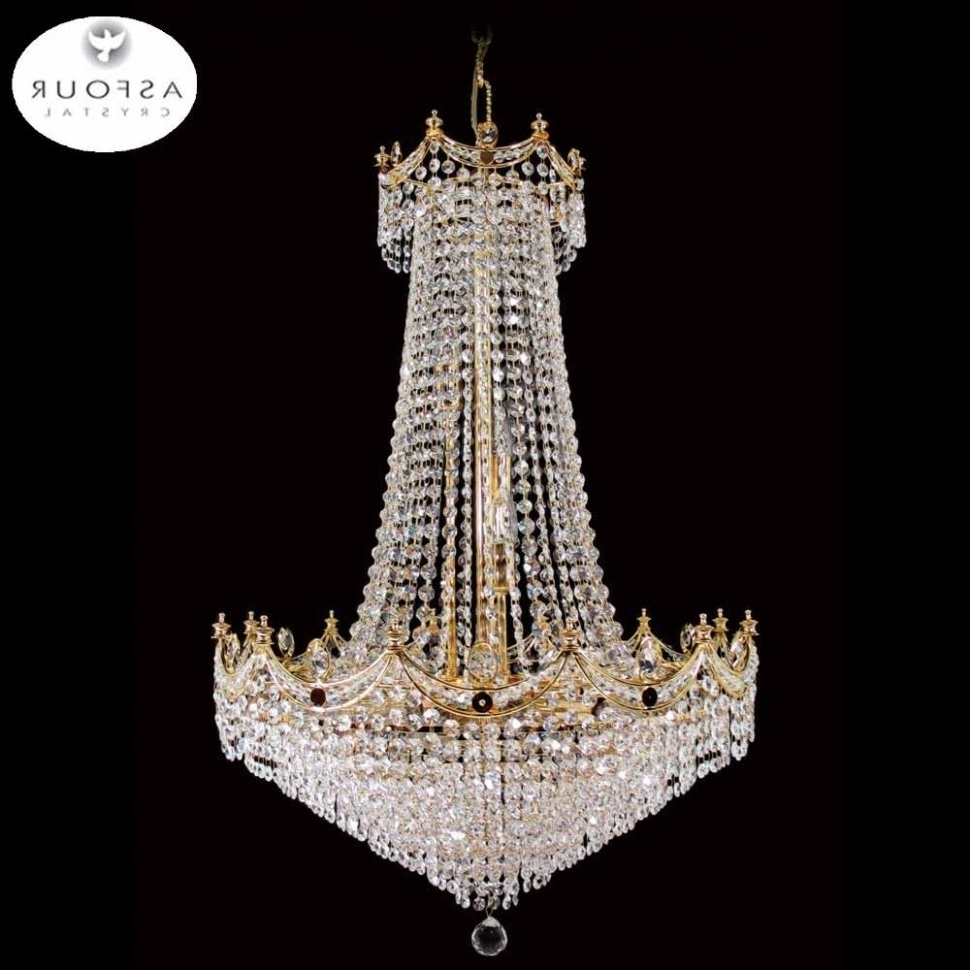 Current Egyptian Crystal Chandelier Throughout Chandeliers : Egyptian Crystal Chandeliers Chandelier Lift Top (View 3 of 15)