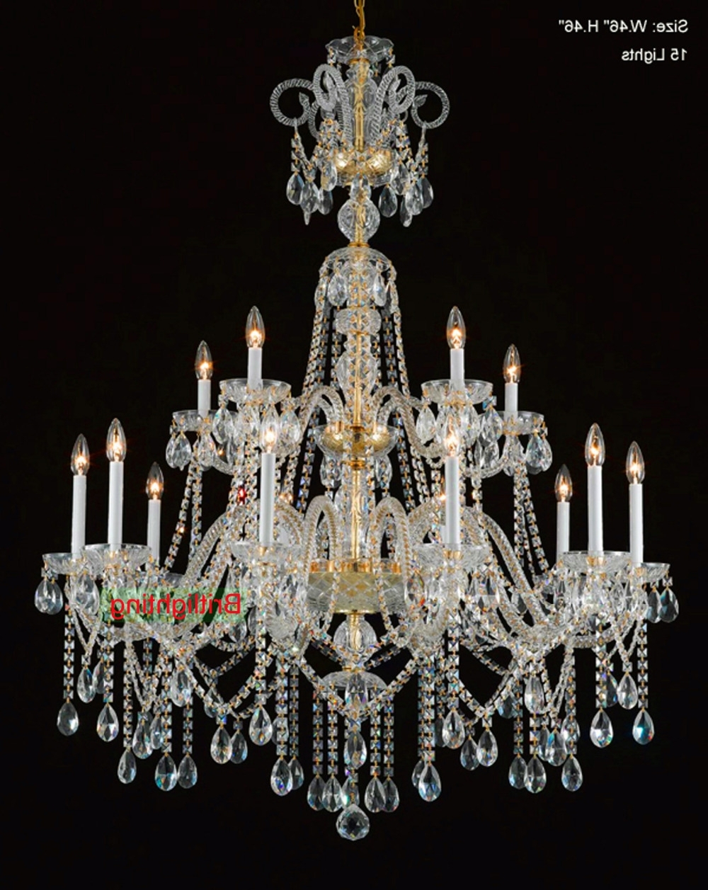 Current Traditional Crystal Chandeliers Throughout Brilliant Traditional Crystal Chandeliers Popular Traditional (View 15 of 15)