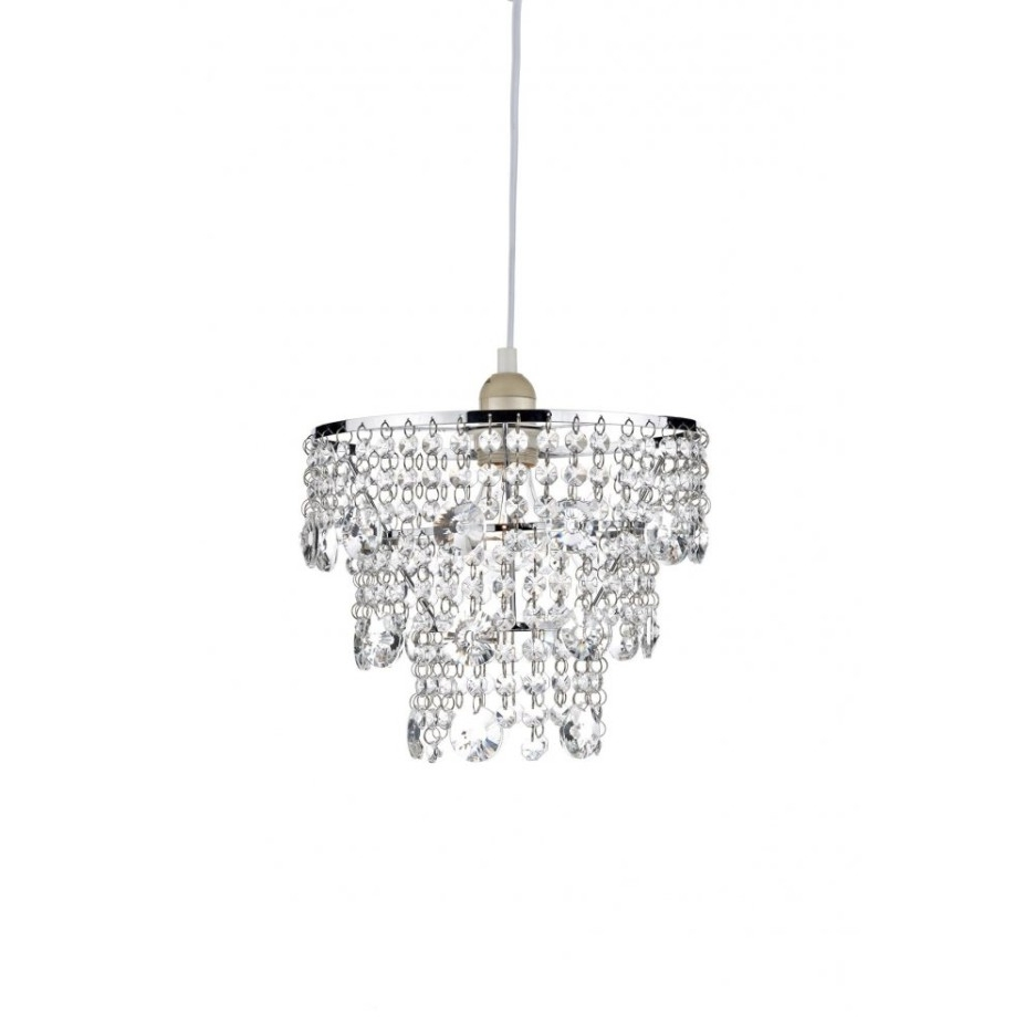 Decoration Ideas Nice Home Accessory Design Of Small White Glass With Regard To Popular Small White Chandeliers (View 5 of 15)