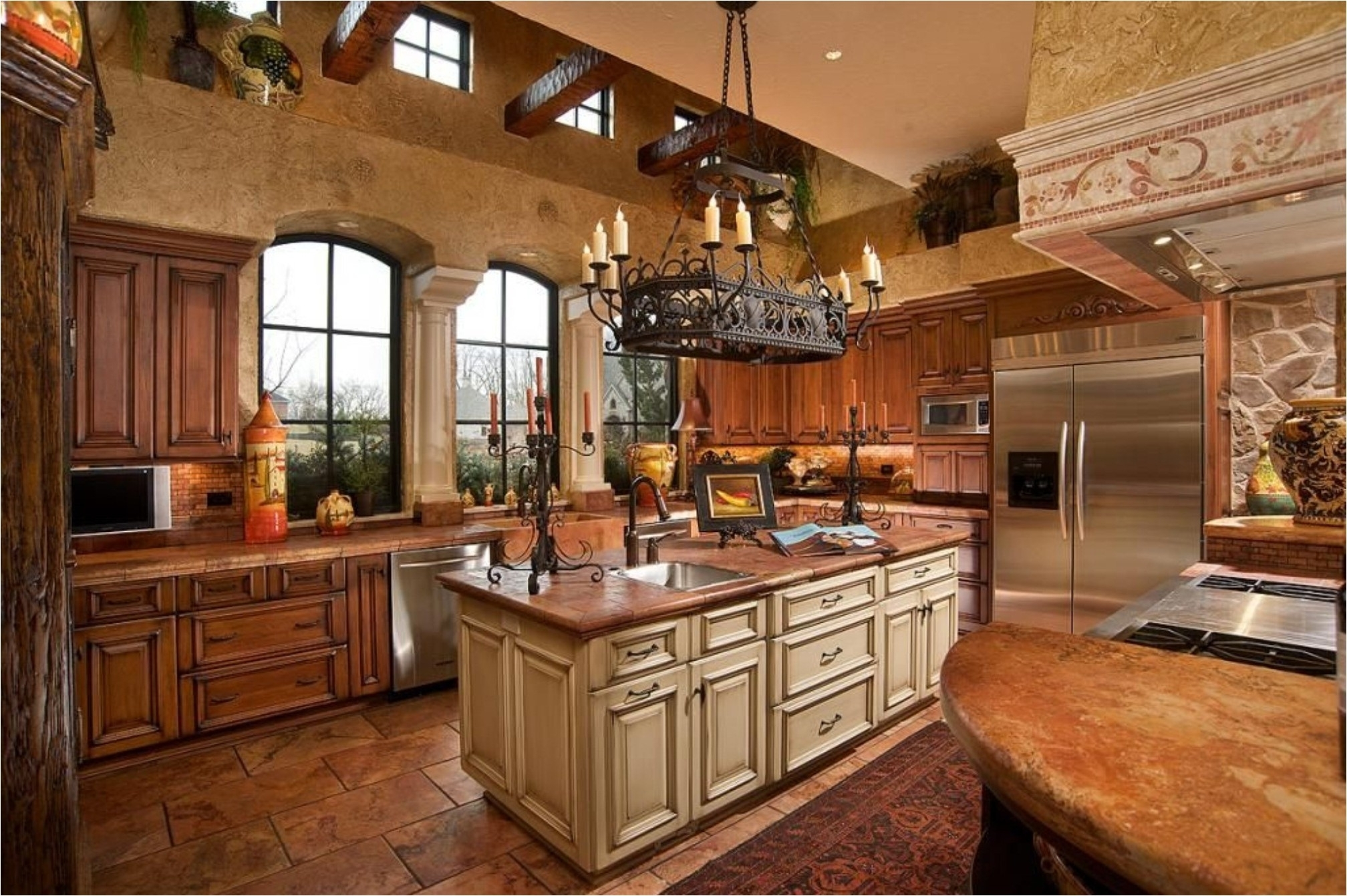 Dining Room Ideas Intended For Small Rustic Kitchen Chandeliers (View 4 of 15)