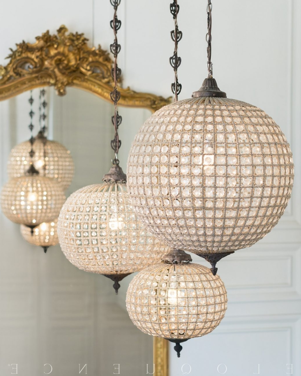 Eloquence Globe Chandelier Ceiling Fan Home Depot Lamp Shades Clip With Most Recently Released Eloquence Globe Chandelier (View 15 of 15)