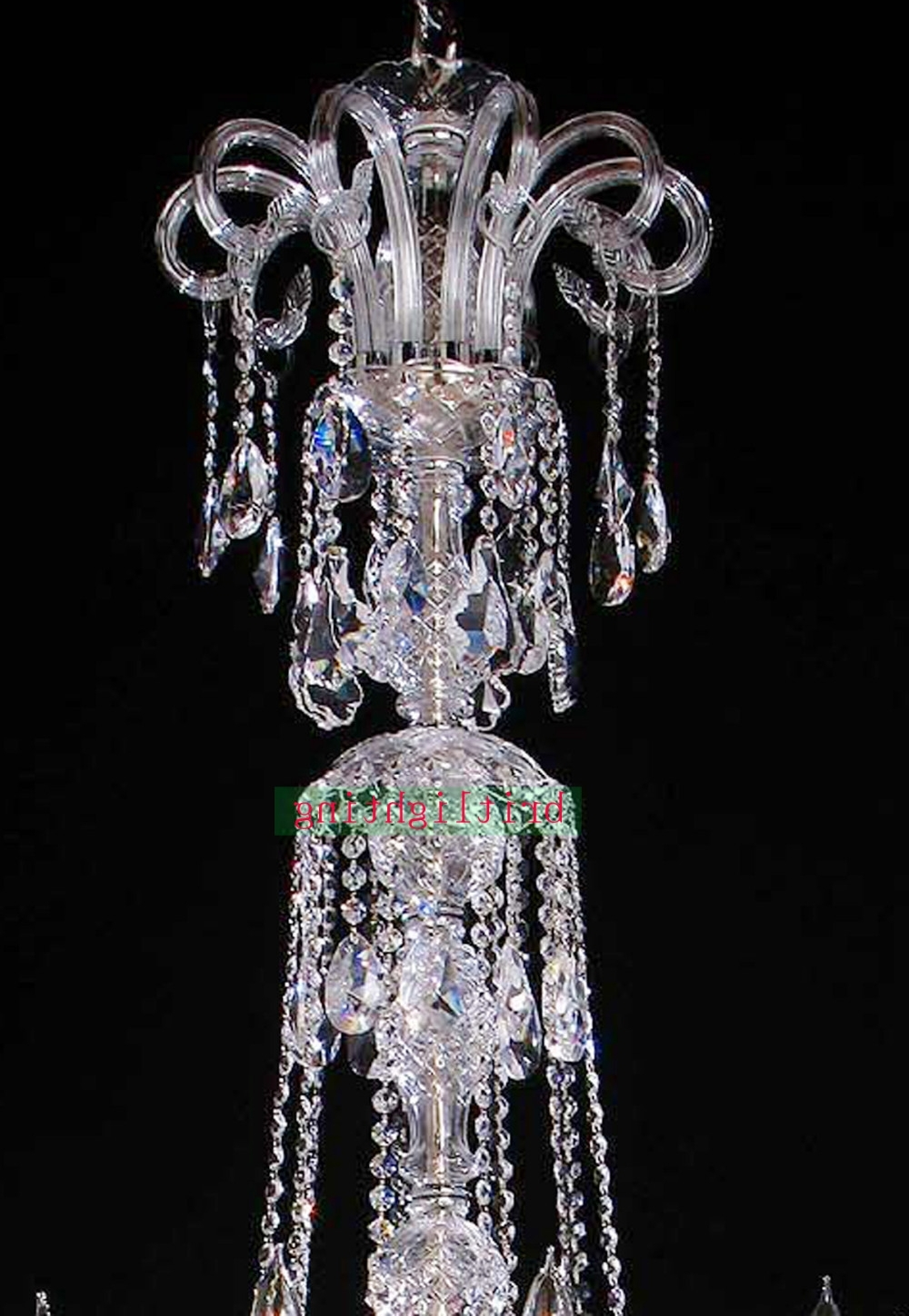 Extra Large Crystal Chandeliers intended for Best and Newest Lamp Modern Crystal Chandeliers 5 Star Hotel Chandelier Led Crystal