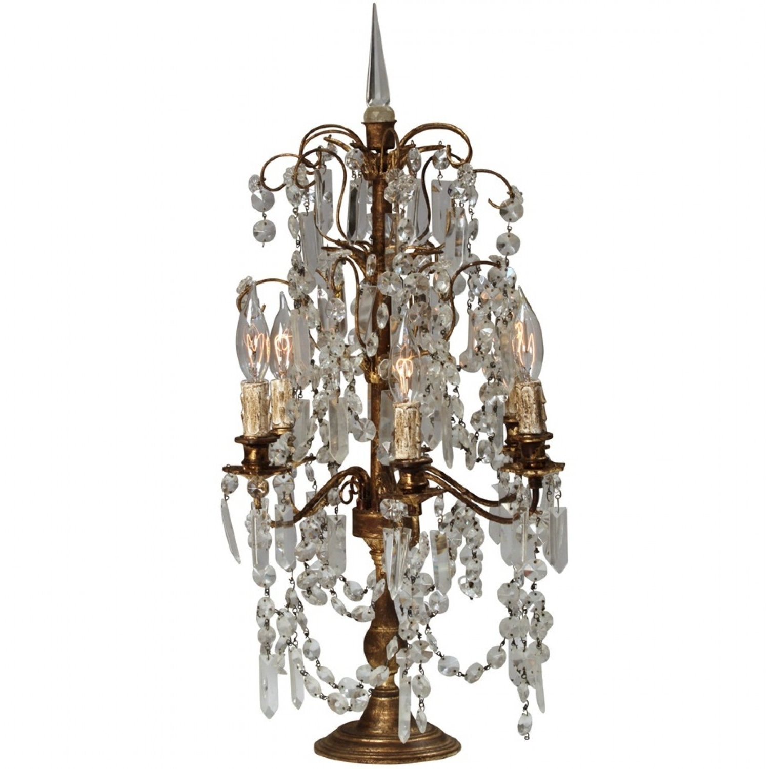 Famous Brilliant Lamps And Chandeliers Home Decor Suggestion Chandelier Intended For Table Chandeliers (View 3 of 15)