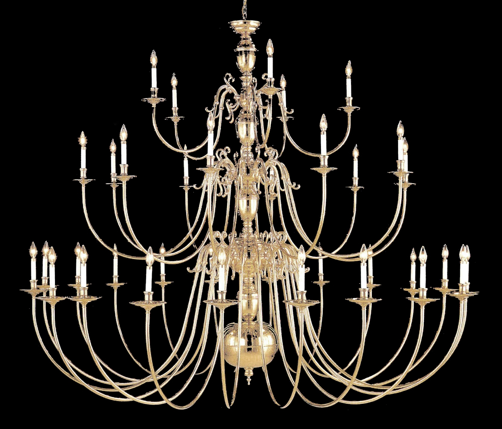 Famous Largelighting – Brass/bronze Chandeliers With Large Brass Chandelier (View 4 of 15)