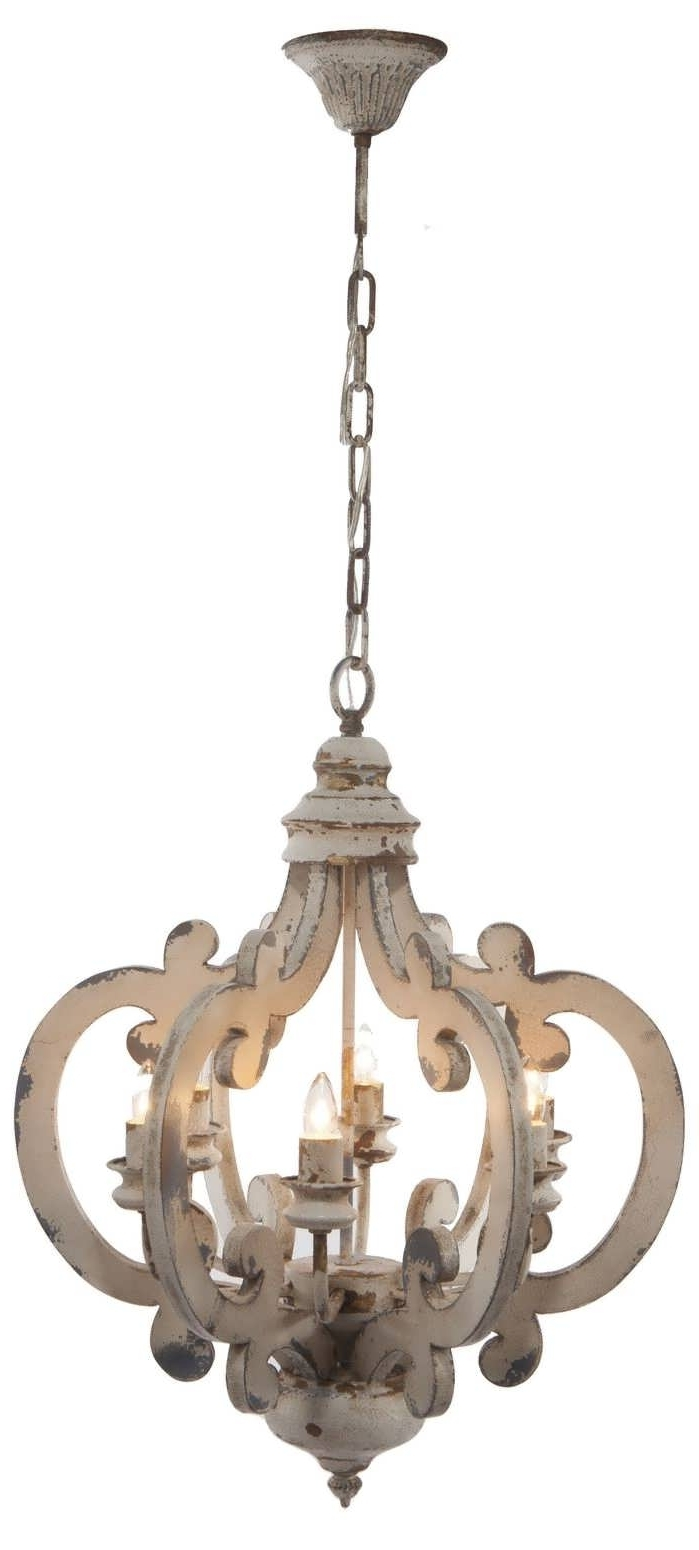 Famous Light : Crystal Chandelier Rustic Wood Iron Chandeliers Candle Chic Inside French Wooden Chandelier (View 10 of 15)
