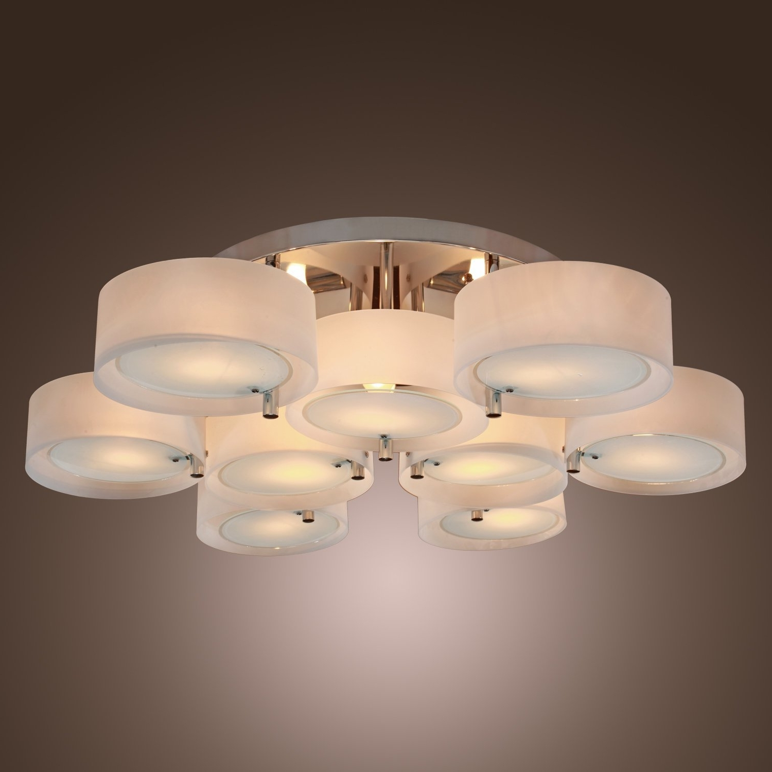 Famous Lightinthebox Acrylic Chandelier With 9 Lights, Flush Mount, Modern For Wall Mounted Chandelier Lighting (View 10 of 15)