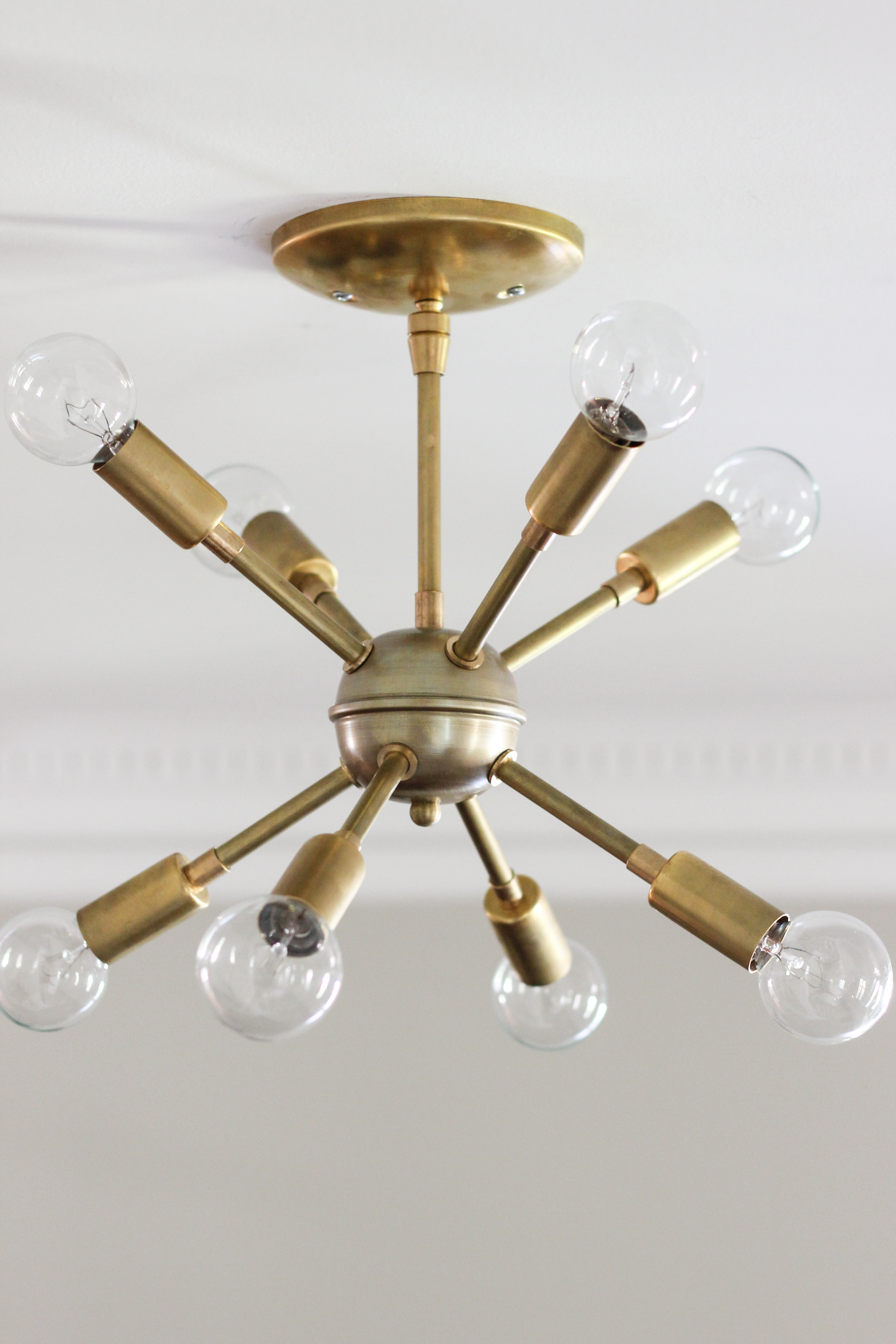 Famous Mini Sputnik Chandeliers With Awesome New Sputnik Chandelier Mid Century Style Lighting Source (View 3 of 15)