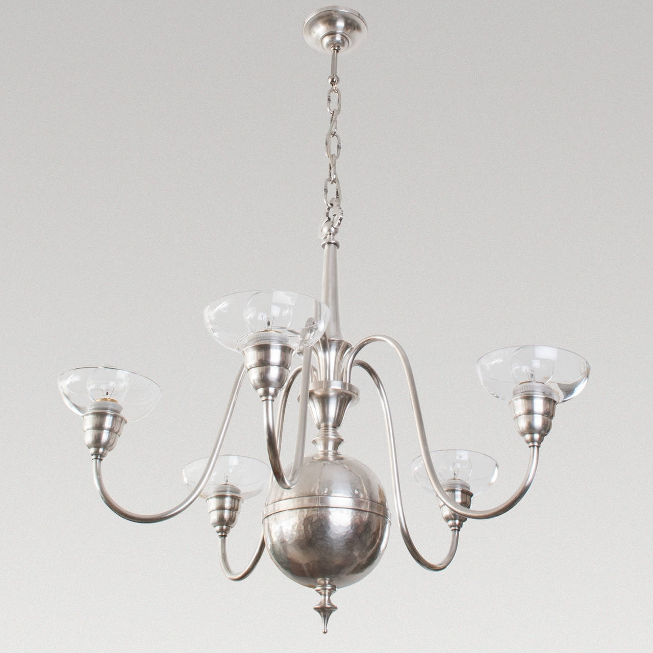 Famous Modern Silver Chandelier : Chandelier Gallery Intended For Modern Silver Chandelier (View 8 of 15)