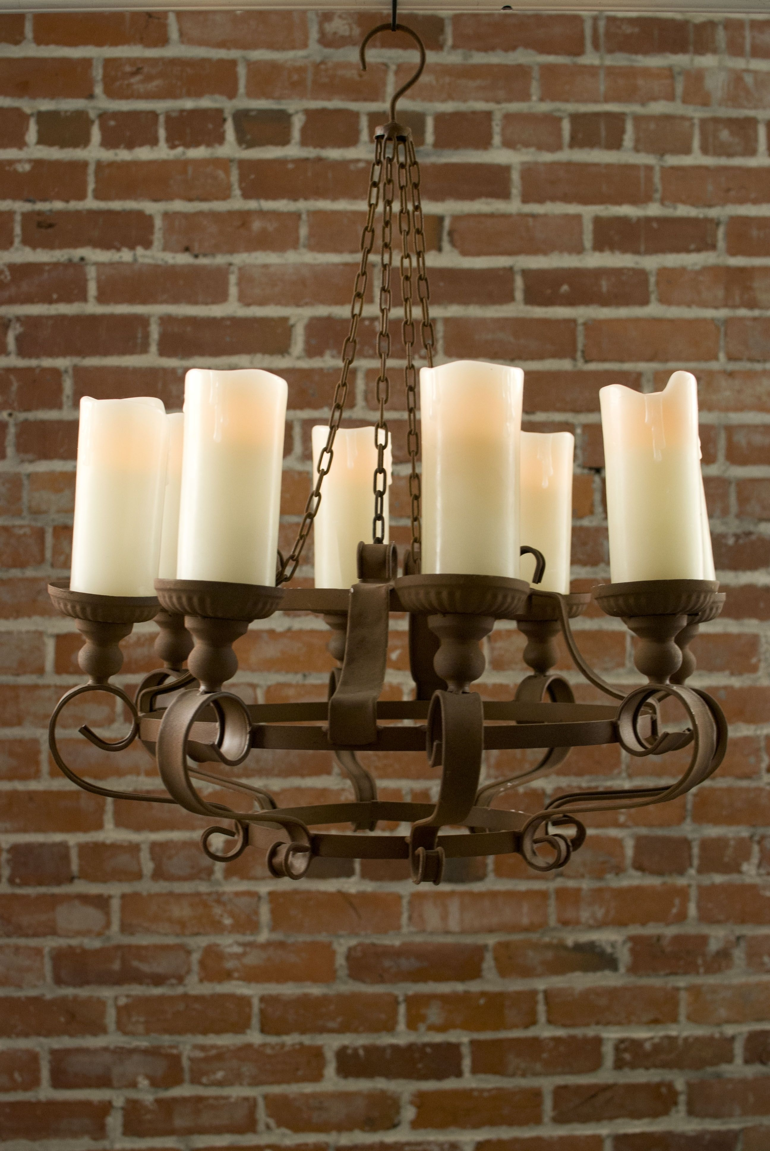 Famous Rustic Chandeliers With Battery Powered Led Candles (View 14 of 15)