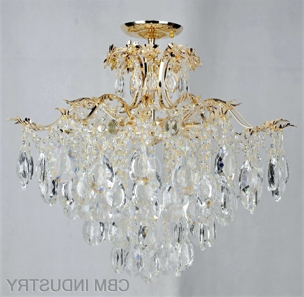 Famous Small Chandeliers For Low Ceilings Pertaining To Chandeliers ~ Crystal Chandeliers For Low Ceilings Chandeliers For (View 14 of 15)