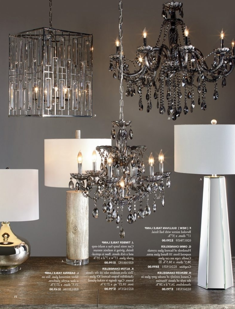 Fashionable Mirrored Chandelier Pertaining To Chandelier ~ 12 Photo Of Mirrored Chandelier Pottery Barn Dumont (View 12 of 15)