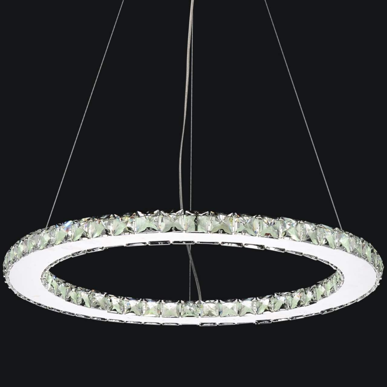 Fashionable Modern Led Chandelier For Brizzo Lighting Stores (View 3 of 15)