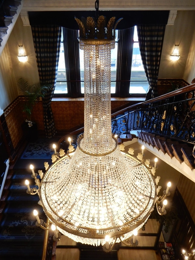 Fashionable Newcastle Royal Station Hotel Chandelierrlkitterman On Deviantart With Hotel Chandelier (View 12 of 15)