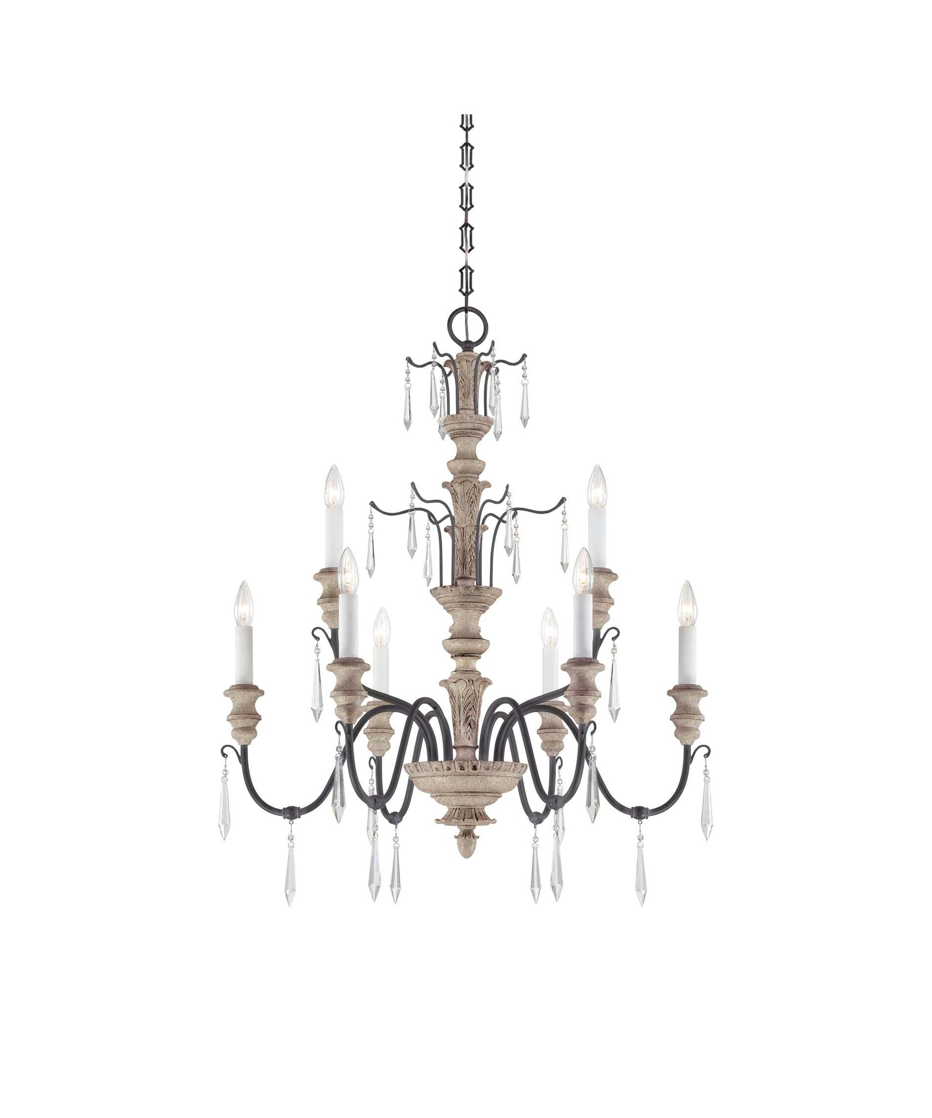 Fashionable Savoy House 1 4341 9 Madeliane 31 Inch Wide 9 Light Chandelier Pertaining To Savoy House Chandeliers (View 5 of 15)