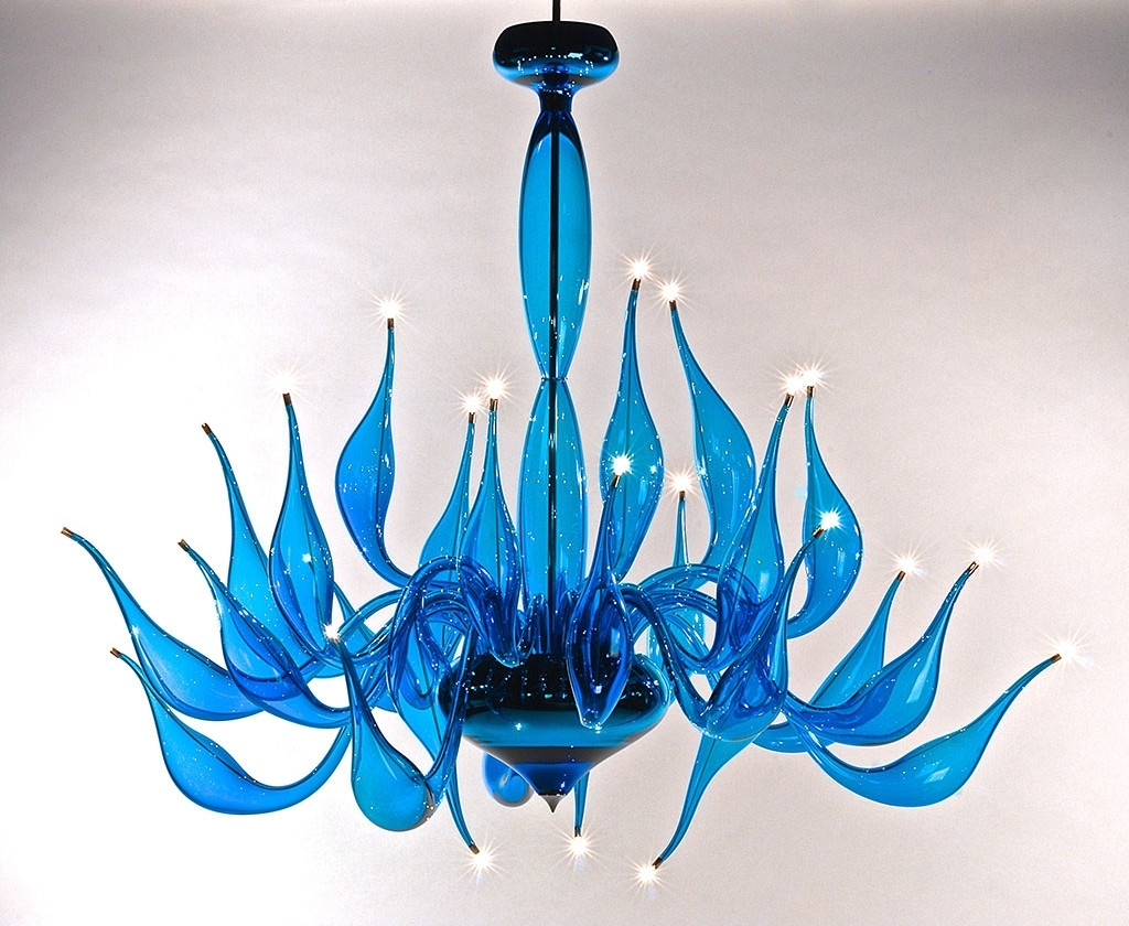 Fashionable Turquoise Chandelier Lu 14 For A Modern Interior Lighting Design Inside Turquoise Bubble Chandeliers (View 7 of 15)