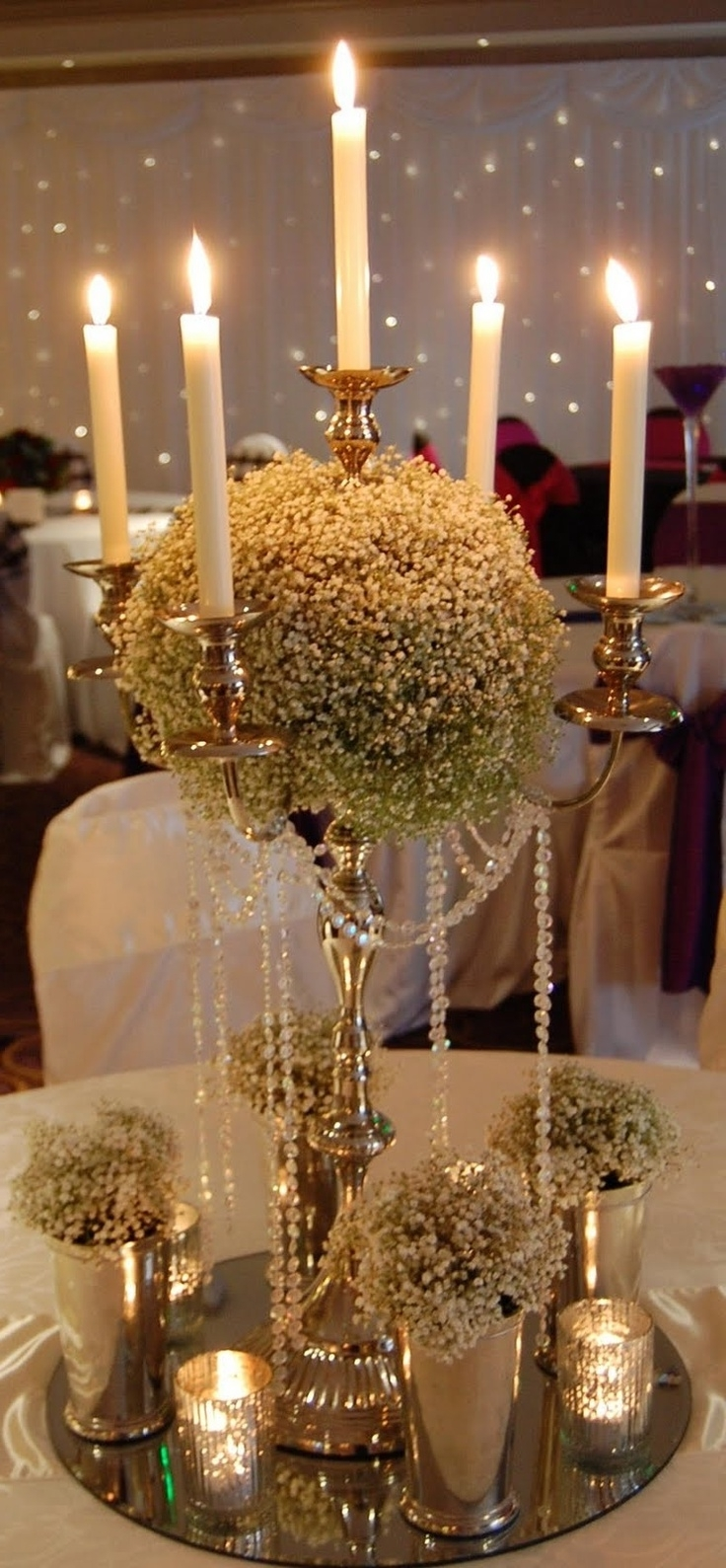 Faux Crystal Chandelier Centerpieces For Preferred 411 Best Flower Arrangement Images On Pinterest (View 2 of 15)