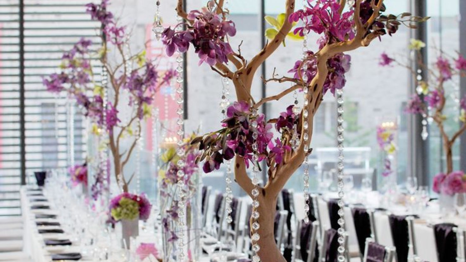 Faux Crystal Chandelier Centerpieces Pertaining To Widely Used Chandelier : Stunning Faux Crystal Chandelier Wedding Bead Strands (View 9 of 15)