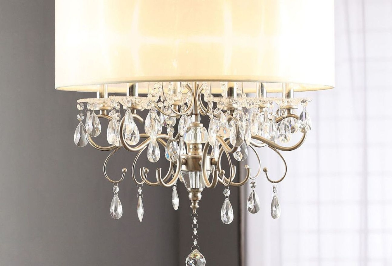 Faux Crystal Chandelier Table Lamps Pertaining To Well Known Chandelier : Xstunning Crystal Chandelier Table Lamp Suppliers (View 8 of 15)