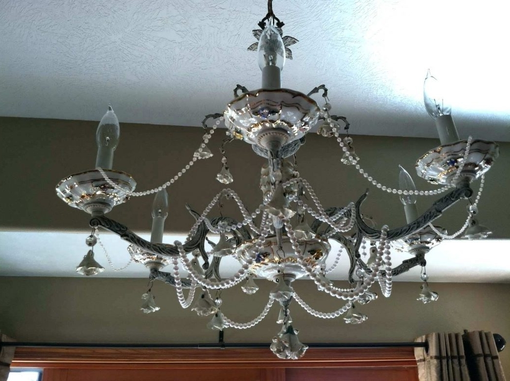 Favorite Mini Chandeliers For Nursery Design Wonderful Classy Pink And Gray Intended For Mini Chandeliers For Nursery (View 5 of 15)