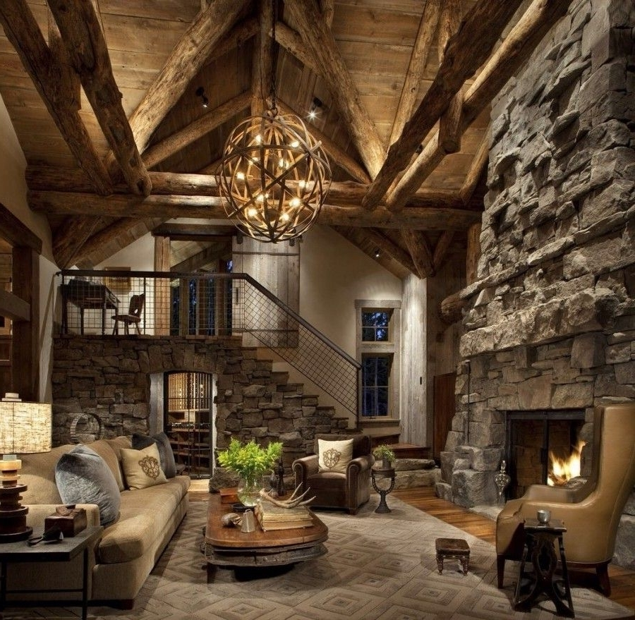 Favorite Oversized Chandeliers For Large Rustic Chandeliers (View 6 of 15)