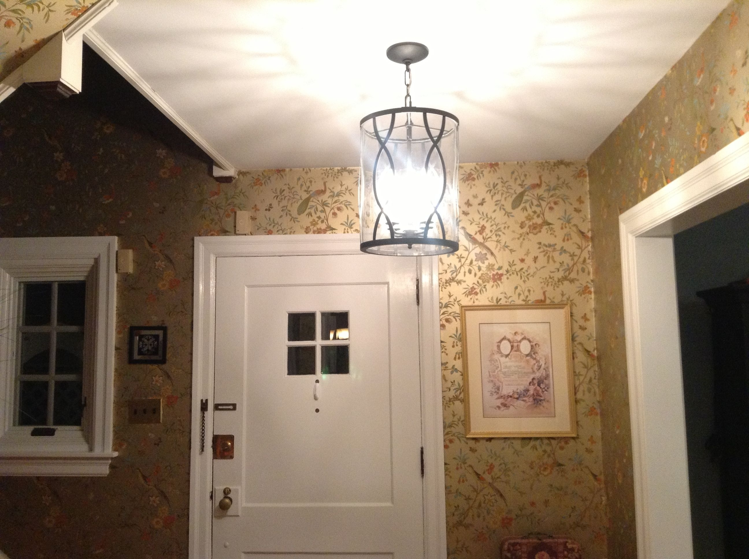 Favorite Small Chandeliers For Low Ceilings For Exquisite Tube Ceiling Hanging Lights With Shade As Modern Foyer (View 9 of 15)