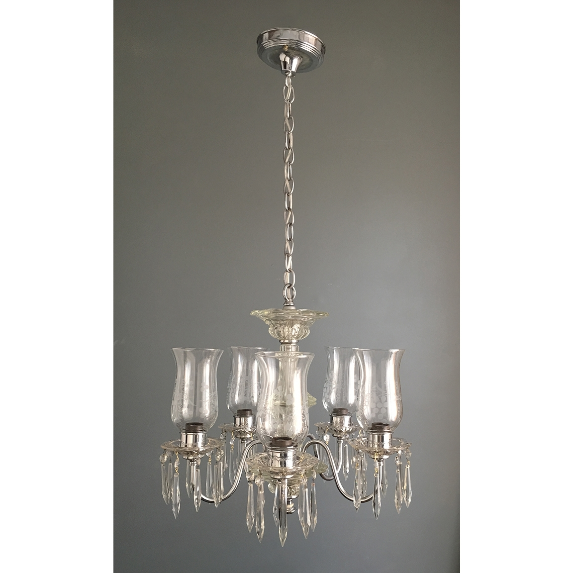 Favorite Small Glass Chandeliers Regarding Light : Chrome And Glass Chandelier Antique Ceiling Fixtures (View 4 of 15)