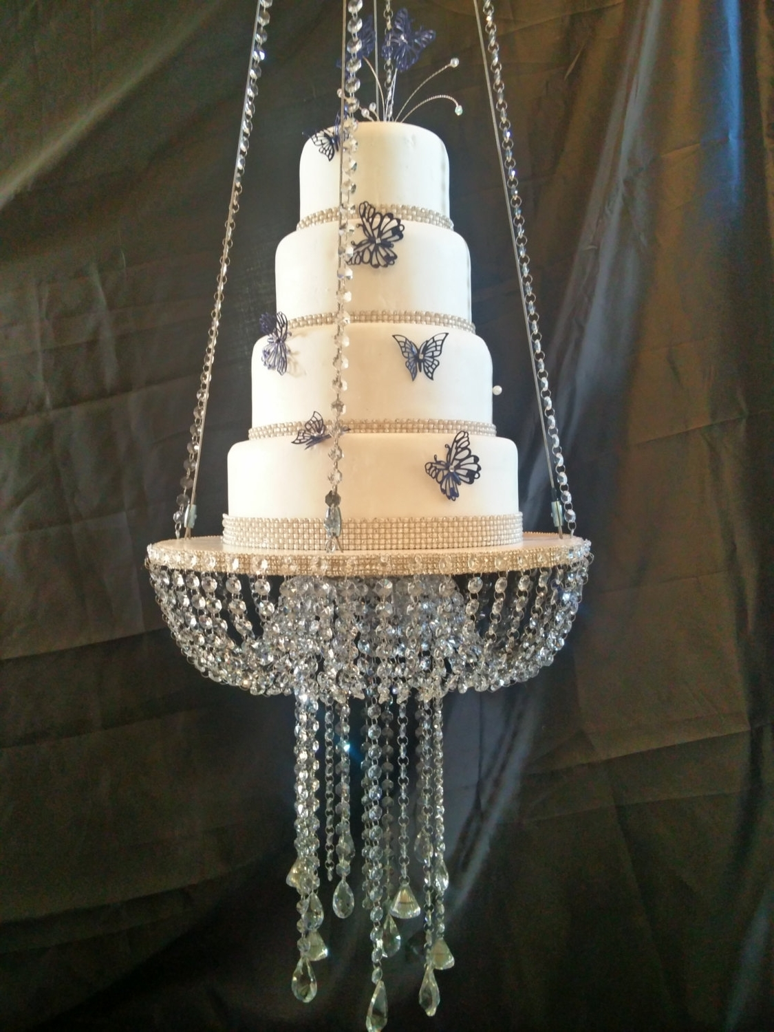 Favorite Sparkly Chandeliers With Chandelier: Astonishing Faux Crystal Chandeliers Party Chandelier (View 14 of 15)