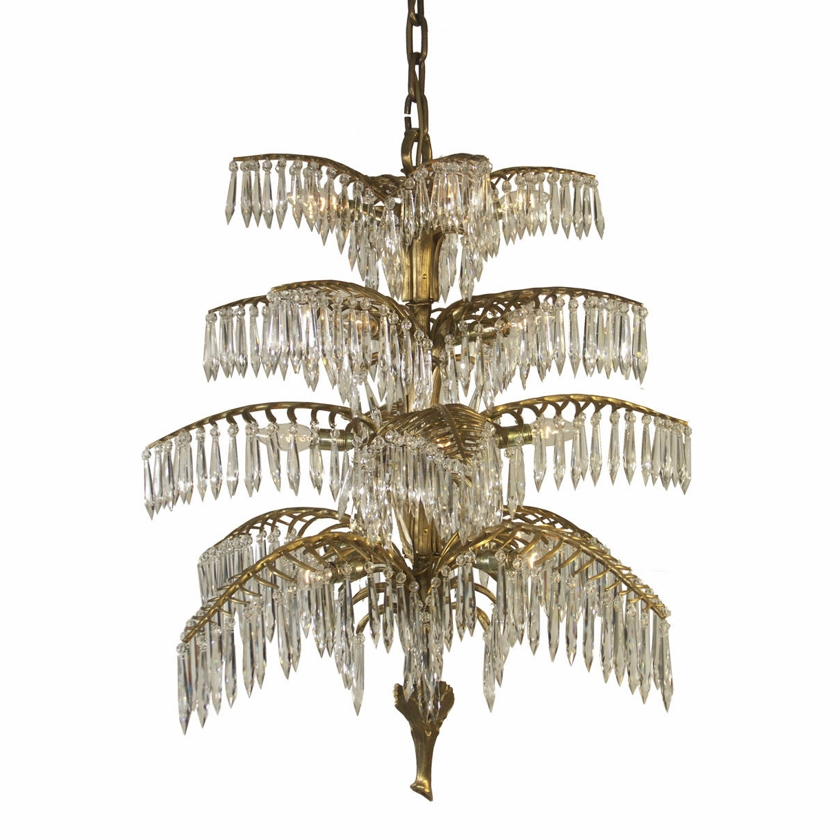 Favorite Traditional Chandelier Inside Traditional Chandelier / Crystal / Brass / Handmade – Palme  (View 3 of 15)