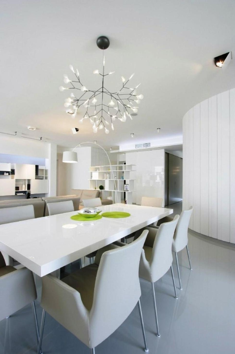 Favorite White Contemporary Chandelier Inside White Contemporary Chandeliers — Best Home Decor Ideas : Trends (View 6 of 15)