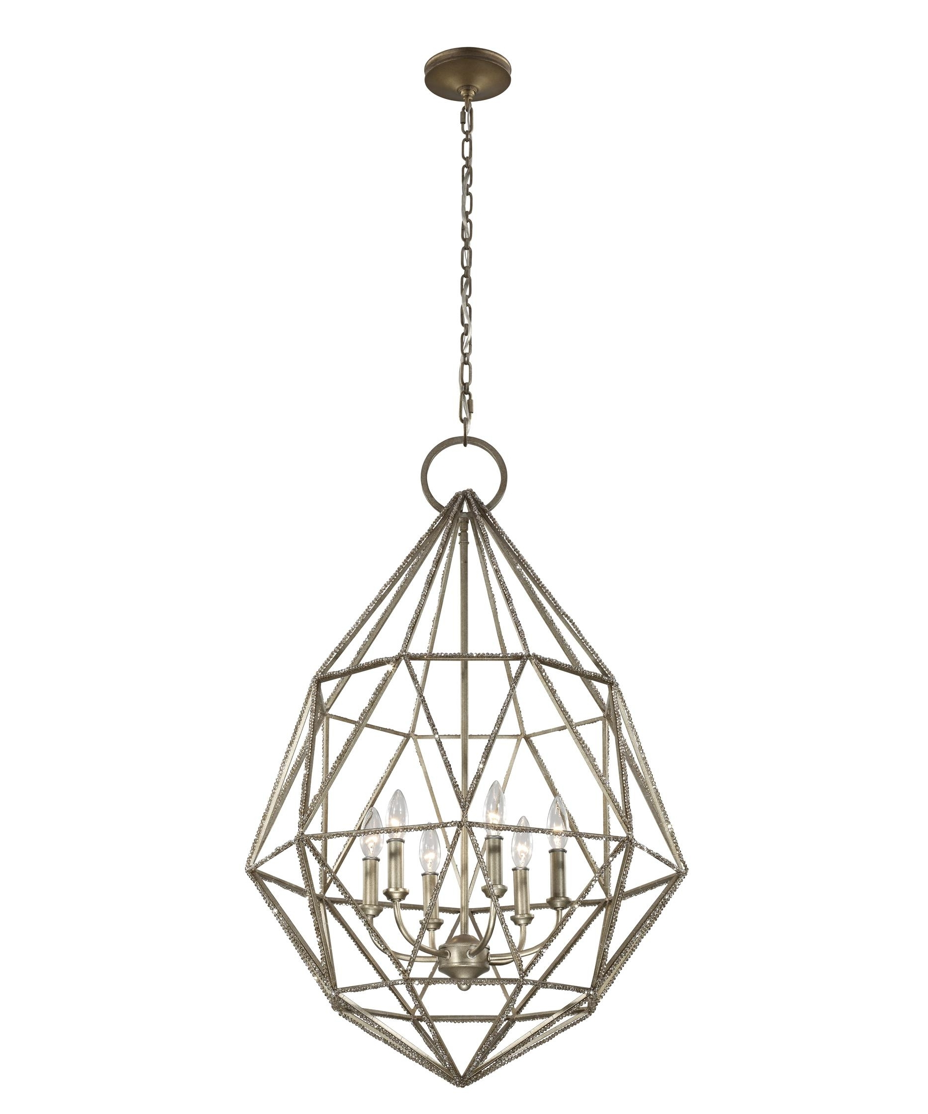 Feiss Chandeliers In Popular Murray Feiss F2942 6 Marquise 25 Inch Wide 6 Light Chandelier (View 8 of 15)